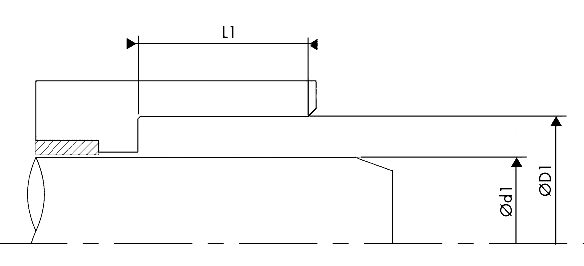 grove dimensions of the rod seals